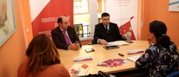 FAMMA Cocemfe Madrid y Fundación Vodafone España han presentado esta mañana la aplicación 'Accessibility Plus Eurotaxi'