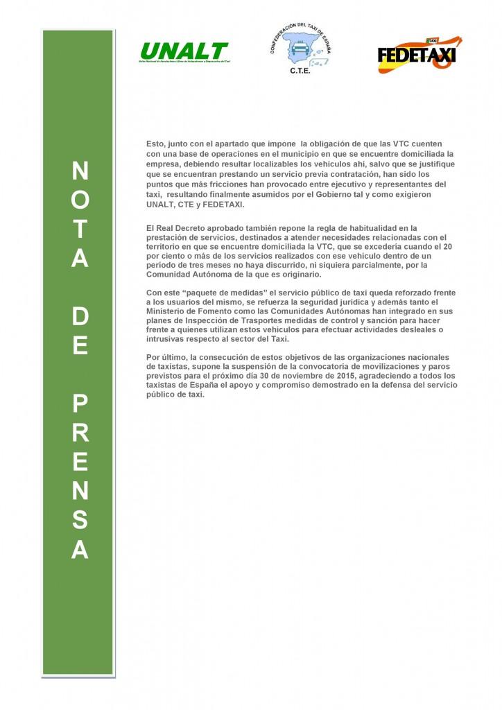 NP. Aprobacion ROTT-2